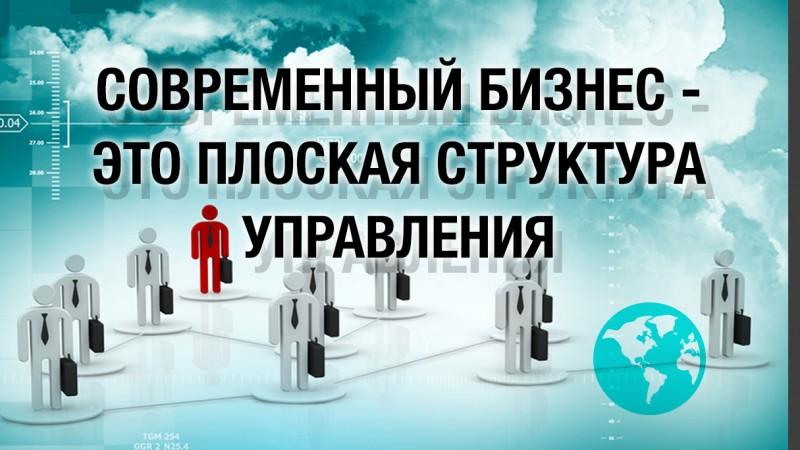 Картинка к статье про плоскую структуру управления бизнесом