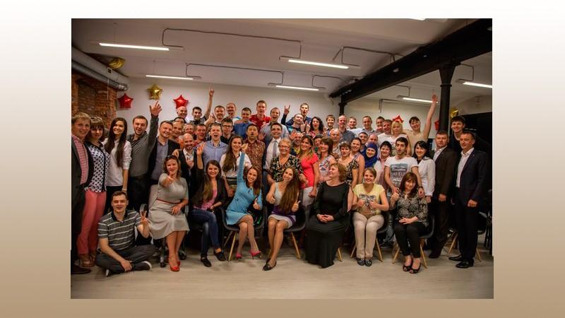 Фото партнеров Академии Победителей на открытии первого Интеллектуального спортивного клуба в Москве