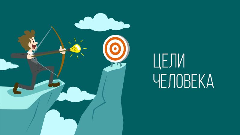 Картинка к статье с видео тренингом Владимира Довганя про цели человека, сайт vdovgan.ru