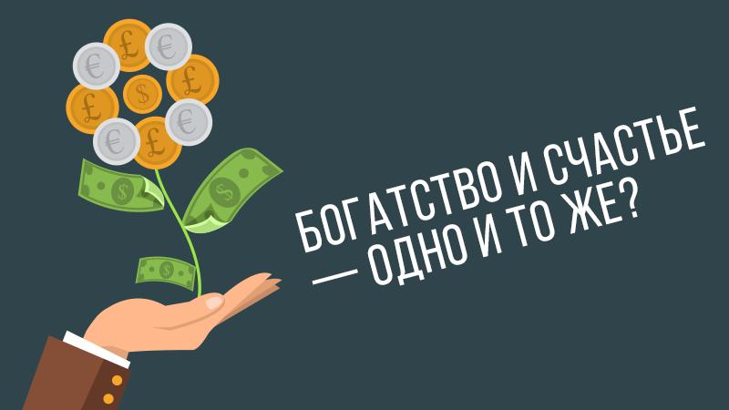 Картинка к видео уроку Владимира Довганя про богатство и счастье на сайте vdovgan.ru