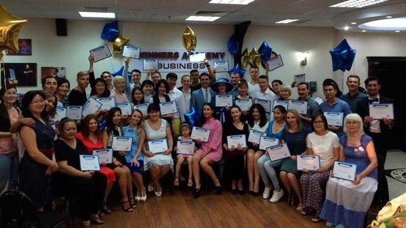 Фото с награждения Героев Академии Победителей в Казахстане, Алматы - 04 сентября 2016
